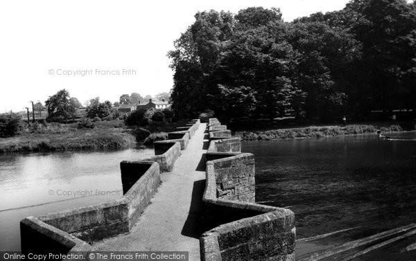 Great Haywood, Essex Bridge c1955