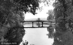 Great Haywood, River Trent c.1955