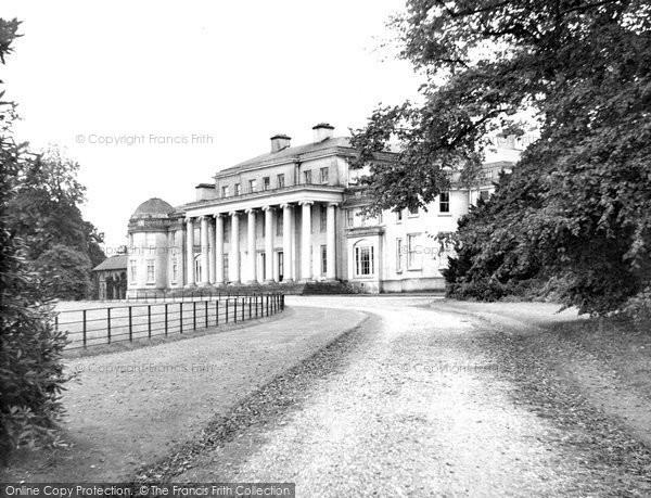 Great Haywood, Shugborough Hall c1955