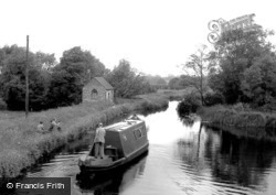 Great Haywood, The Canal c.1955