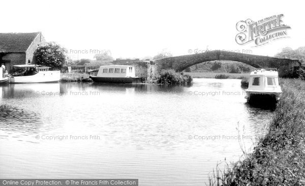 Great Haywood, the Canal c1955