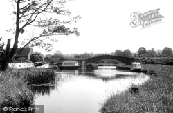 The Canal c.1955, Great Haywood