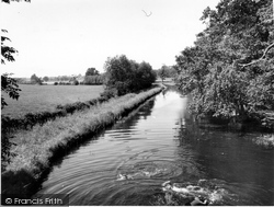 The Canal c.1960, Great Haywood
