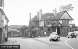 The Clifford Arms Hotel c.1955, Great Haywood