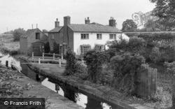The Lock c.1955, Great Haywood