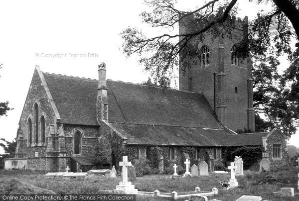 Great Holland, All Saints Church c1955, Essex.  (Neg. G274004)  © Copyright The Francis Frith Collection 2005. http://www.francisfrith.com