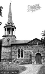Great Houghton, Church Of St Mary The Blessed Virgin c.1965