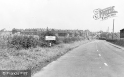 Great Houghton, General View c.1955