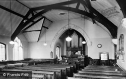 Great Houghton, The Chapel Interior c.1960