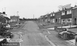 Great Houghton, Willow Crescent c.1965