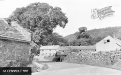 Barley Croft Lane c.1955, Great Hucklow