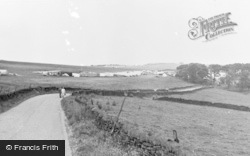 Camp Hill c.1960, Great Hucklow