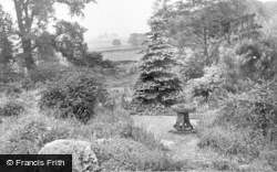 The Gardens, Florence Nightingale Home For Men c.1955, Great Hucklow