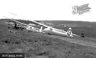 Great Hucklow, World and Cadet Gliding, the Gliding Club c1955