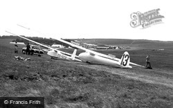 World And Cadet Gliding, The Gliding Club c.1955, Great Hucklow