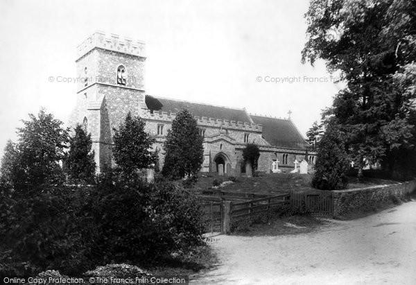 Great Kimble, the Church 1897