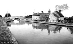 Great Linford, Black Horse Bridge c.1965
