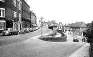 Great Malvern, Belle Vue Terrace and Post Office c1955