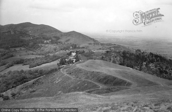 Photo of Great Malvern, British Camp, Ancient Trenches c.1950