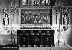 Great Malvern, Church Altar c.1875