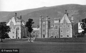 Great Malvern, College from Cricket Field c1870