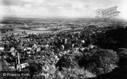 Great Malvern, From North Hill c.1875