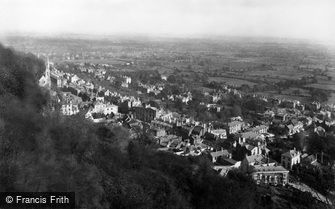 Great Malvern, from St Ann's Well c1870