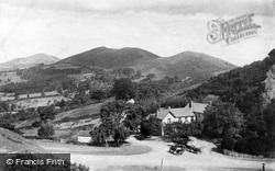 Great Malvern, Malvern Hills From The British Camp c.1870