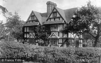 Great Malvern, Pickersleigh House c1870