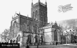 Great Malvern, Priory Church c.1870