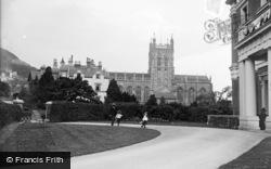 Great Malvern, Priory Church c.1890