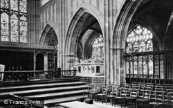 Great Malvern, Priory Church Interior c.1870