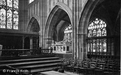Great Malvern, Priory Church, View In Choir c.1870