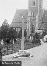 Great Malvern, St James' Church, War Memorial 1923