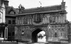 Great Malvern, The Abbey Gateway c.1875