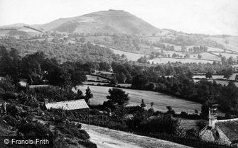 Great Malvern, the British Camp c1870