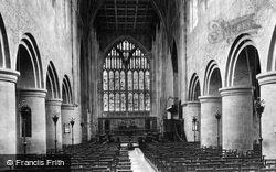 Great Malvern, The Priory Church Interior c.1875