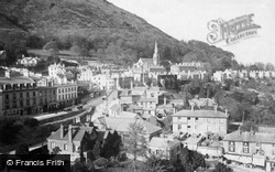 Great Malvern, The Town And North Hill c.1875
