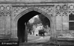 Great Malvern, Through Priory Gateway c.1875