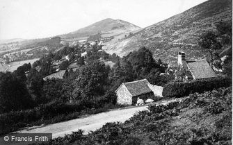 Great Malvern, Worcestershire Beacon c1870