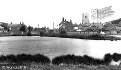 The Village Pond c.1965, Great Massingham