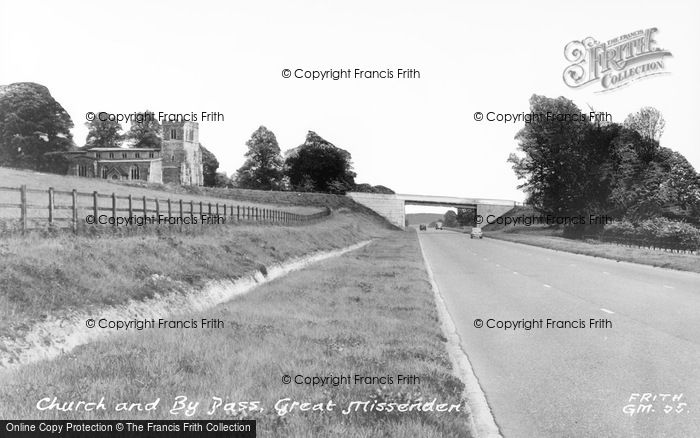 Photo of Great Missenden, Church And By Pass c.1955