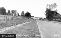 Great Missenden, Church And By Pass c.1955