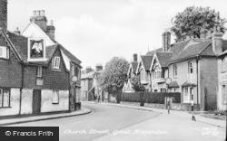 Great Missenden, Church Street c.1955