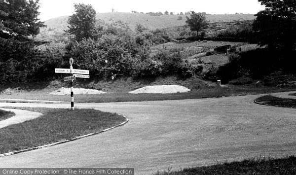 Photo of Great Missenden, Coombe Hill And Crossroads c.1950