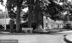 Great Missenden, The Old Pump And Cottages c.1955