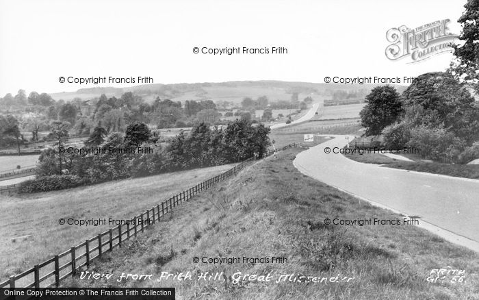 Photo of Great Missenden, View From Frith Hill c.1955
