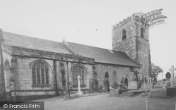 Great Mitton, All Hallows Church c.1960
