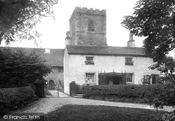 Great Mitton, Post Office And All Hallows Church 1921