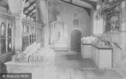 Great Mitton, The Church Interior 1893